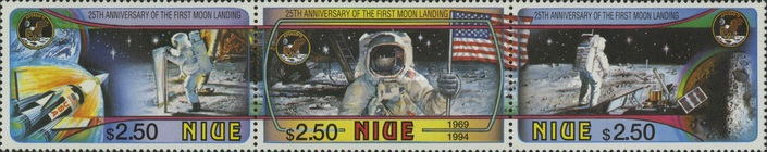 [The 25th Anniversary of the First Moon Landing, type ]