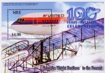 [The 100th Anniversary of the First Powered Flight of the Wright Brothers, type ]