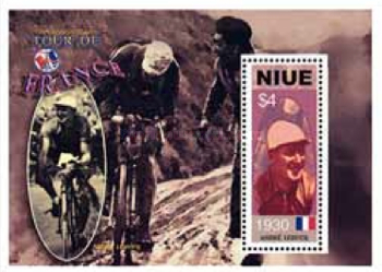 [The 100th Anniversary of Tour de France - Winners of Years 1920-1930, type ]