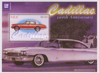 [The 100th Anniversary Cadillac Automobile, type ]