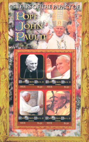 [The 25th Anniversary of the Papacy of John Paul II, type ]