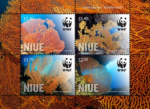 [WWF - Niue Giant Sea Fan, type ]