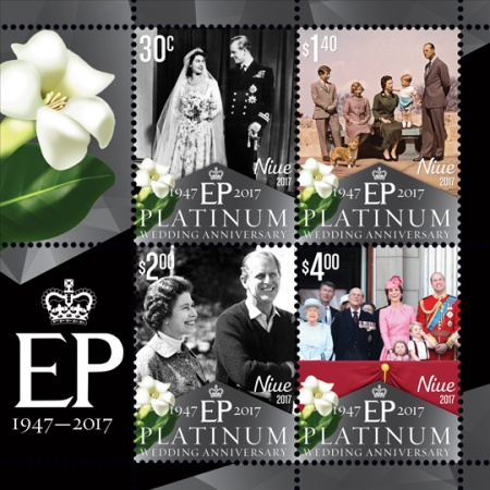 [The 70th Anniversary of the Wedding of Queen Elizabeth II and Prince Philip, type ]