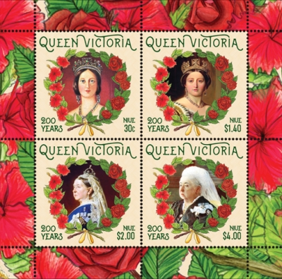 [The 200th Anniversary of the Birth of Queen Victoria, 1819-1901, type ]