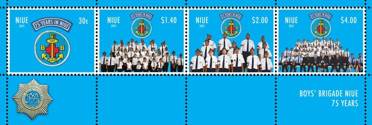 [The 75th Anniversary of the Boys Brigade, type ]