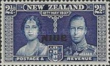 [New Zealand Postage Stamps Overprinted