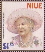 [The 100th Anniversary of the Birth of Queen Elizabeth the Queen Mother, 1900-2002 - The 18th Anniversary of the Birth of Prince William, type ADK]