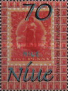 [The 100th Anniversary of Stamps in Niue, type ADU]