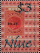 [The 100th Anniversary of Stamps in Niue, type ADV]