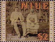[The 100th Anniversary of Annexation of Niue through New Zealand, type AEI]