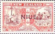 [Victorious End of Second World War - New Zealand Postage Stamps Overprinted, type AI1]
