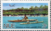 [Opening of Niue Airport, type BW]