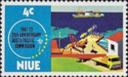 [The 25th Anniversary of South Pacific Commission, type CL]