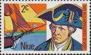 [The 200th Anniversary of the Landing of Captain James Cook on the West Coast of Niue, type CX]