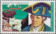 [The 200th Anniversary of the Landing of Captain James Cook on the West Coast of Niue, type CY]