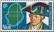 [The 200th Anniversary of the Landing of Captain James Cook on the West Coast of Niue, type CZ]