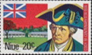 [The 200th Anniversary of the Landing of Captain James Cook on the West Coast of Niue, type DA]