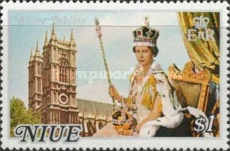 [The 25th Anniversary of the Regency of Queen Elizabeth II - White Frame, type EC]