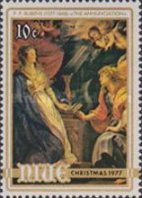[Christmas - The 400th Anniversary of the Birth of Peter Paul Rubens, 1577-1640, type ES]
