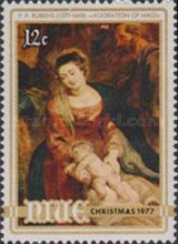 [Christmas - The 400th Anniversary of the Birth of Peter Paul Rubens, 1577-1640, type ET]