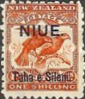 [New Zealand Postage Stamps Surcharged, type G]