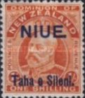 [New Zealand Postage Stamps Surcharged, type H2]