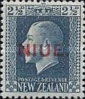 "[New Zealand Postage Stamps Overprinted ""NIUE"" - Engraved, type K]"