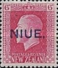 "[New Zealand Postage Stamps Overprinted ""NIUE"" - Engraved, type K2]"