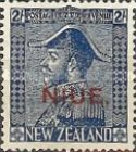 "[New Zealand Postage Stamp Overprinted ""NIUE"", type R]"