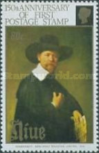 [The 150th Anniversary of Stamps - Paintings of Rembrandt, type WL]