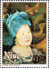 [The 90th Anniversary of the Birth of Queen Elizabeth the Queen Mother, 1900-2002, type WP]