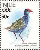 [Birds Stamps of 1992 Surcharged, type XH1]