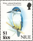 [Birds Stamps of 1992 Surcharged, type XJ1]