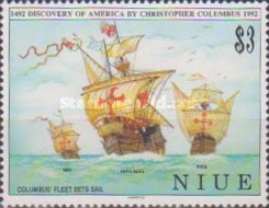 [The 500th Anniversary of the Discovery of America, type XO]