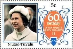 [The 60th Anniversary of the Birth of Queen Elizabeth II, Typ BS]