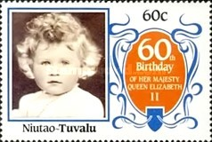 [The 60th Anniversary of the Birth of Queen Elizabeth II, Typ BT]