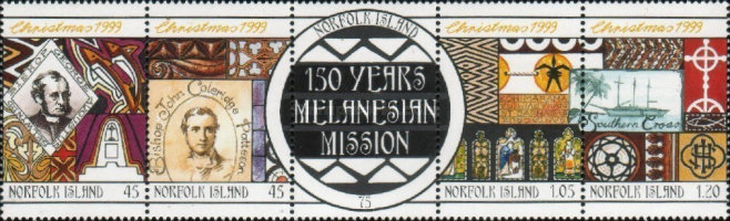 [Christmas - The 150th Anniversary of Melanesian Mission, Typ ]