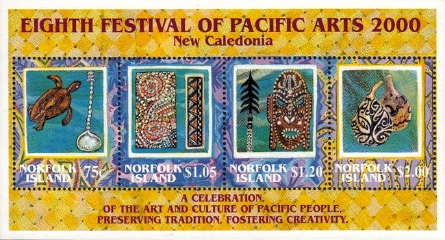 [The 8th Pacific Arts Festival, New Caledonia, Typ ]