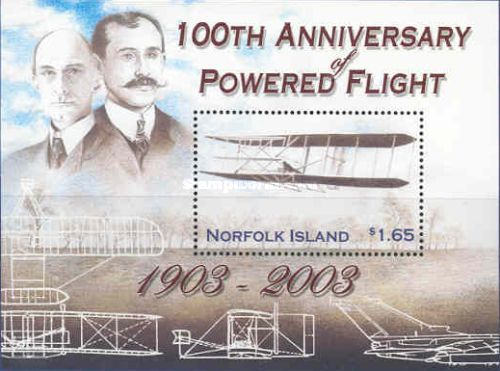 [The 100th Anniversary of the First Motorized Flight by the Wright Brothers, Typ ]