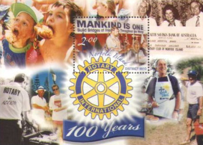 [The 100th Anniversary of Rotary International, Typ ]