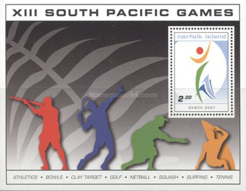 [South Pacific Games - Samoa, Typ ]