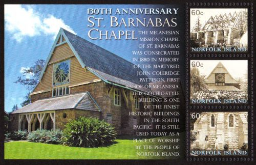 [The 130th Anniversary of St. Barnabas Chapel, Typ ]