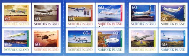 [The 70th Anniversary of Aircraft Landing on Norfolk Island, Typ ]