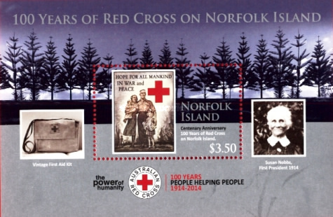 [The 100th Anniversary of red Cross on Norfolk Island, Typ ]