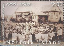 [The 100th Anniversary of the Norfolk Island Central School, Middlegate, Typ AHR]