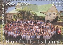 [The 100th Anniversary of the Norfolk Island Central School, Middlegate, Typ AHS]