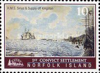 [The 200th Anniversary of the First Convict Settlement in Kingston, Typ AIU]