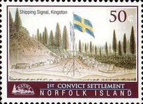 [The 200th Anniversary of the First Convict Settlement in Kingston, Typ AIV]