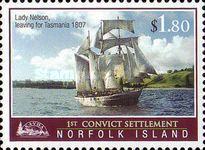 [The 200th Anniversary of the First Convict Settlement in Kingston, Typ AIX]