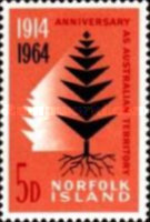 [The 50th Anniversary of Norfolk Island as Australian Territory, Typ AL]